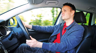 Skoda Superb long-termer - Graham driving