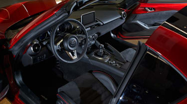 Mazda MX-5 RF Launch Edition interior