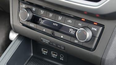New SEAT Ibiza - centre console
