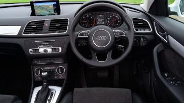Audi Q3 dashboard