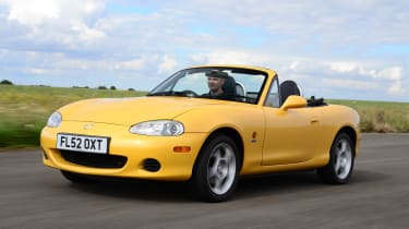 Best cars for £1,500 or less - Mazda MX-5