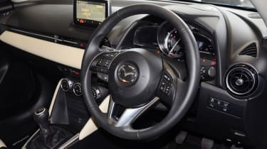 Mazda 2 Sport Nav long term test - interior