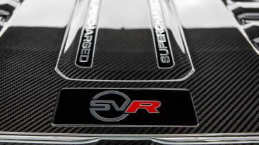 Range Rover Sport SVR - engine detail