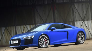 Audi R8 RWS - front static