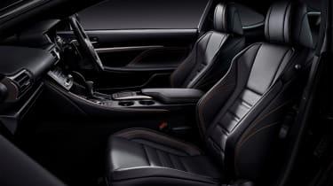 Lexus RC 300h F Sport Black Edition - interior