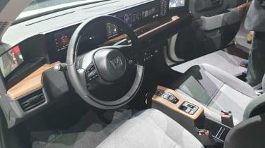 Honda e Prototype - Geneva dash
