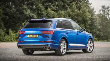 Audi SQ7 - rear static