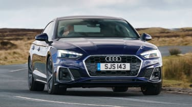 Audi A5 Sportback - front action