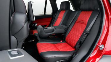 Range Rover SVAutobiography Dynamic 2017 - rear seats