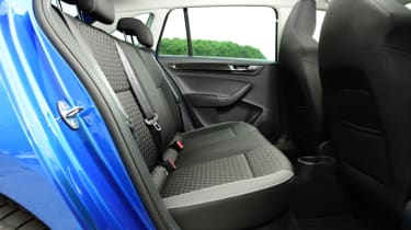 Skoda Rapid Spaceback - rear bench