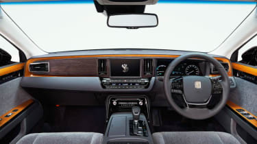2018 Toyota Century - interior front