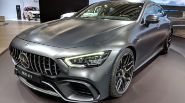 Mercedes-AMG GT four-door - New York front