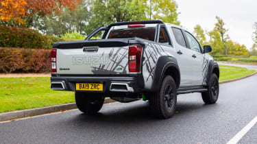 Isuzu D-Max XTR - rear 3/4 static