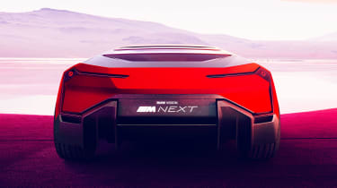 BMW Vision M NEXT concept - full rear