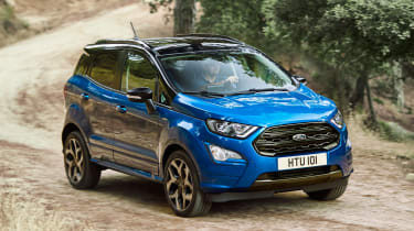 Ford EcoSport - front tracking