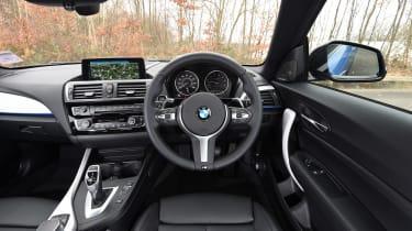 BMW M240i Coupé long term review - interior