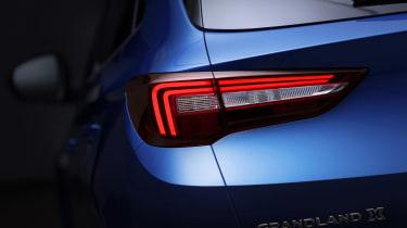 Vauxhall Grandland X - rear light detail
