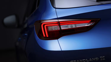 Vauxhall Grandland X - rear light detail
