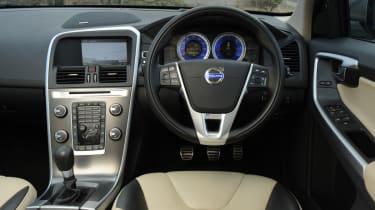 Volvo XC60 D3 DRIVe dash