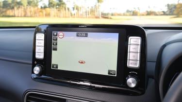 Hyundai Kona Electric - navigation