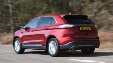 Ford Edge second report - rear
