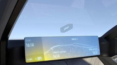 Renault EZ-GO concept - screen
