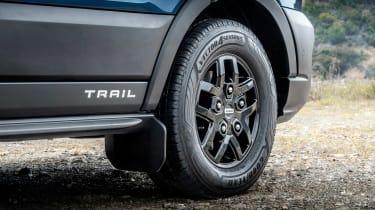 Transit trail wheel