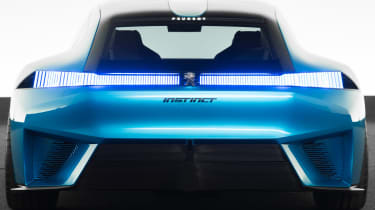 Peugeot Instinct concept - full rear