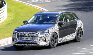 Audi e-tron S - spyshot 2