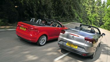 Renault Megane CC vs. A3 Cabriolet