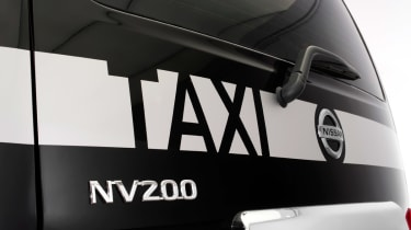 Nissan NV200 Taxi rear