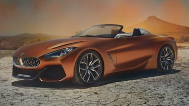 BMW Z4 Roadster concept front