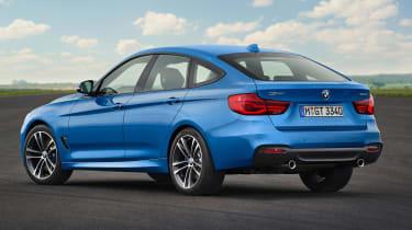 BMW 3 Series GT - rear static