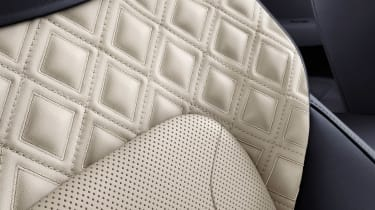 Bentley Continental GT - seat detail