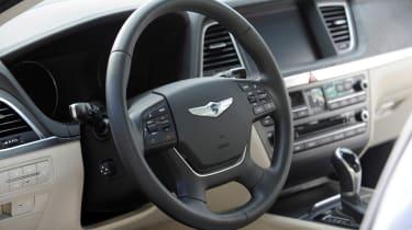 Hyundai Genesis 2014 interior