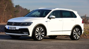 Volkswagen Tiguan - front static
