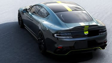 Aston Martin AMR brand - rear quarter