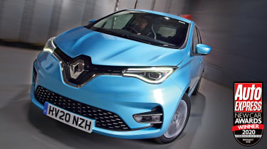 The Renault Zoe continues to lead the way as the go-to small, affordable electric car.