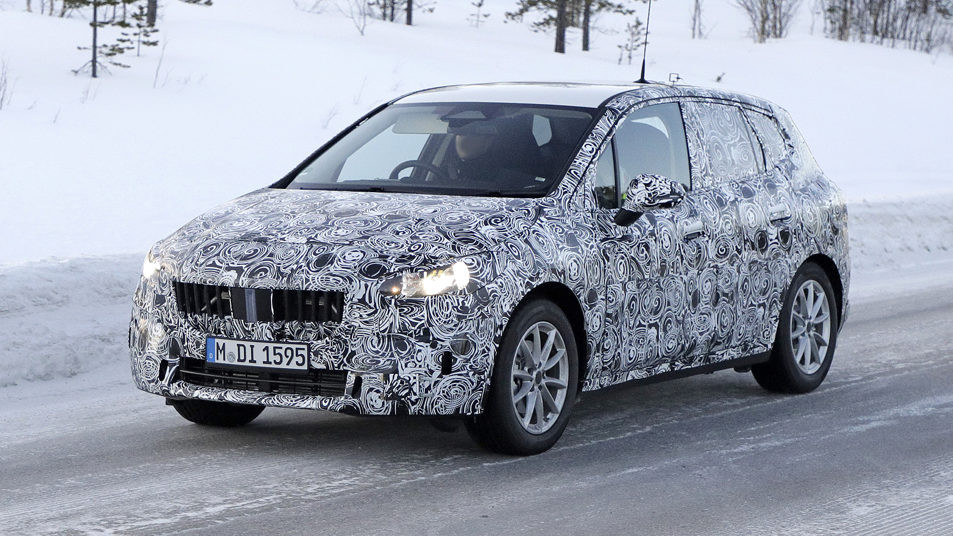 new 2021 bmw 2 series active tourer spied
