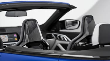 BMW M4 Competition Convertible - interior