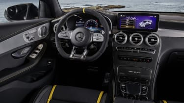 Mercedes-AMG GLC 63 S - interior
