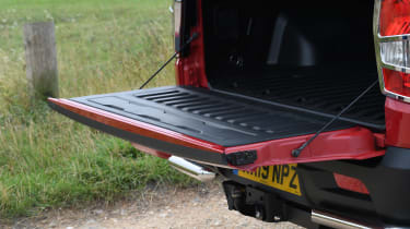 SsangYong Musso long term review - tailgate
