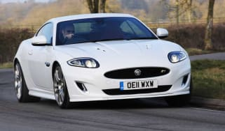 Jaguar XKR Coupe front cornering