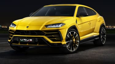 Lamborghini Urus - front yellow