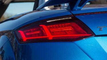 Audi TT RS Roadster - rear light detail