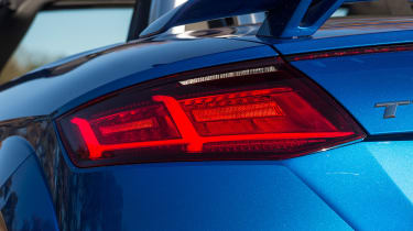 Audi TT RS Roadster - rear light detail