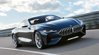 BMW Concept 8 Series - front