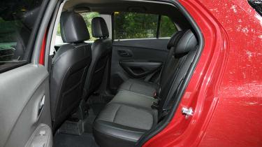 Chevrolet Trax rear seats