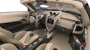 Pagani Huayra Roadster 2017 - interior
