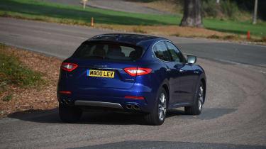 Maserati Levante used review - cornering